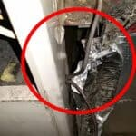 unsealed return duct