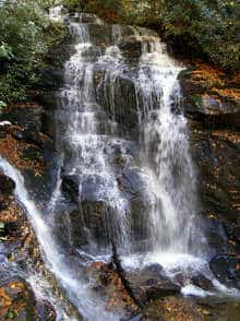 picture of soco falls in maggie valley