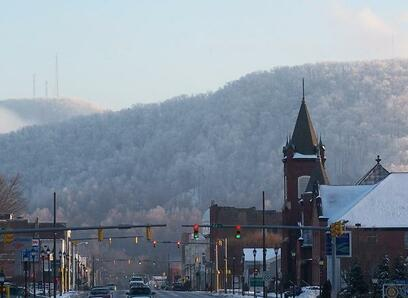picture of Marion NC downtown